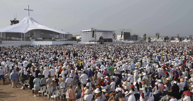Droves fill pope's final Mass in restive Latin America trip