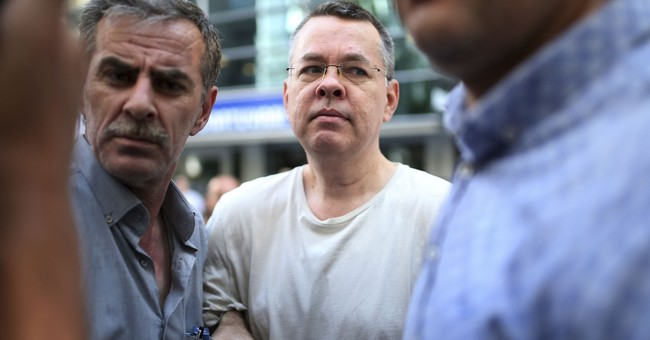 United States slaps sanctions on top Turkish officials over detained pastor