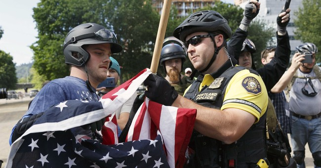 Oregon police chief orders review of use of force at protest