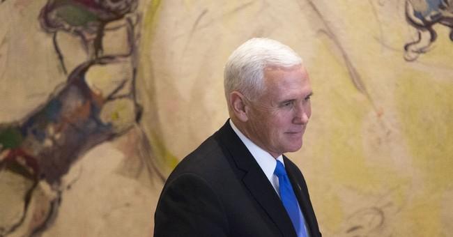 "The Latest: Pence calls report on Trump affair ""baseless"""