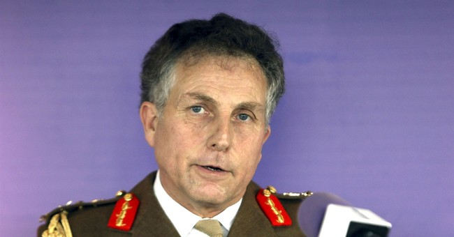 Head of Britain's army warns of eroding capability