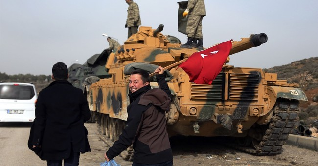 AP Explains: Turkey's 'Operation Olive Branch' in Afrin