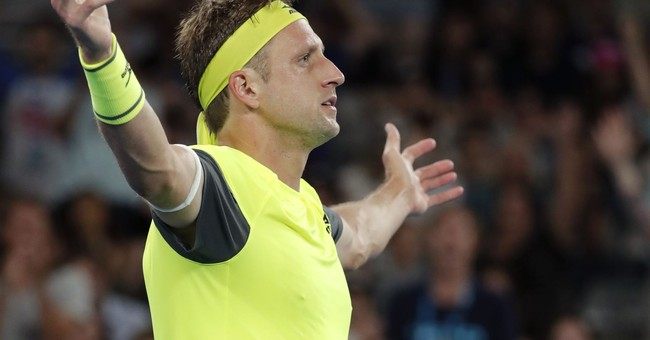 Time for Tennys: American Sandgren into Aussie Open quarters