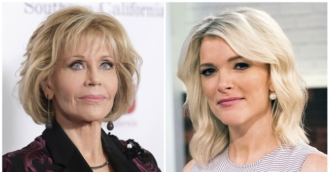 NBC's Kelly says Fonda has 'no business' lecturing her