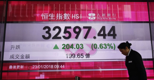 World shares rise on global growth hopes, US shutdown's end
