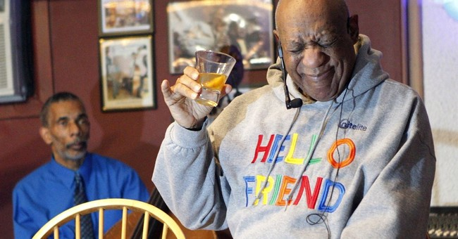 The Latest: Cosby says friends prompted his return to stage