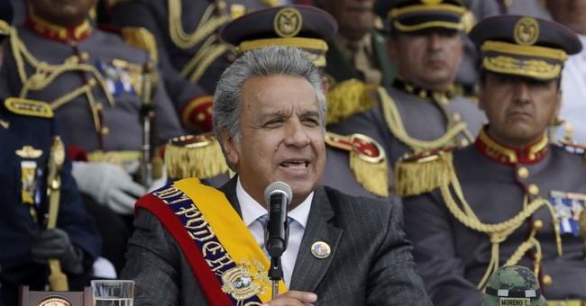 Ecuador's president takes aim at WikiLeaks' Assange