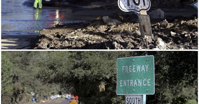 Report: Conflicting California mudslide warnings issued