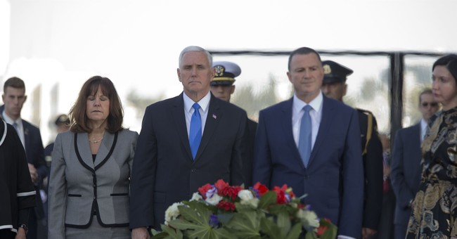 The Latest: Israel PM praises Pence speech, approach to Iran