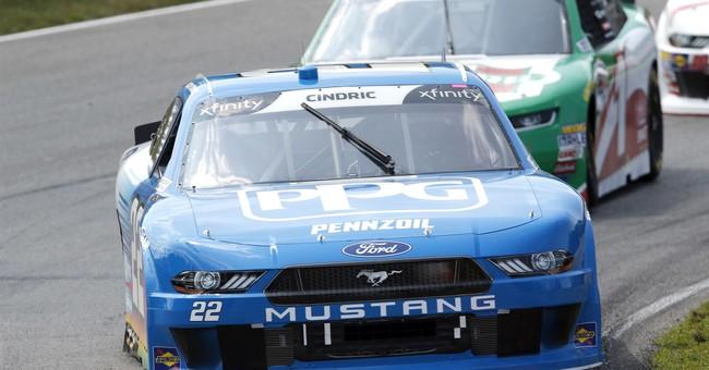 Justin Allgaeir wins NASCAR Xfiinity race at Mid-Ohio