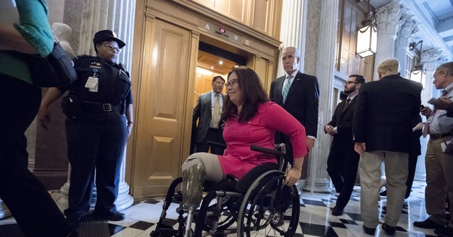 Duckworth to be first sitting US senator to give birth