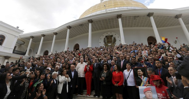 The Latest: Venezuela's Maduro interested in re-election