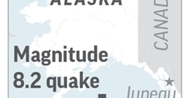 Latest: Seismologist: Tsunami chance reduced with quake type