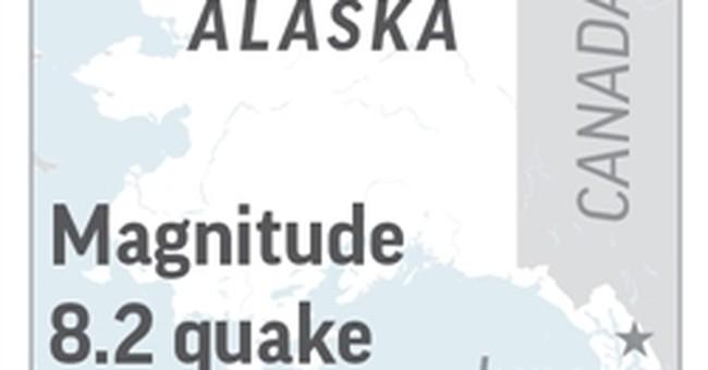 Latest: Seismologist: Tsunami chance reduced with quake type