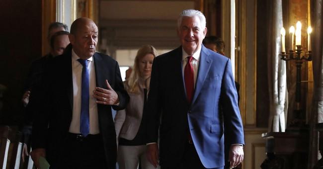 Tillerson presses Europe on Iran deal, as France bristles