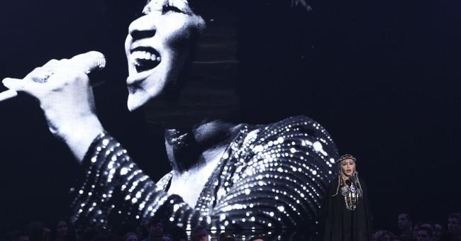 Madonna defends 'self-indulgent' tribute to Aretha Franklin