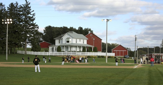 Vandal damages Field of Dreams site in eastern Iowa