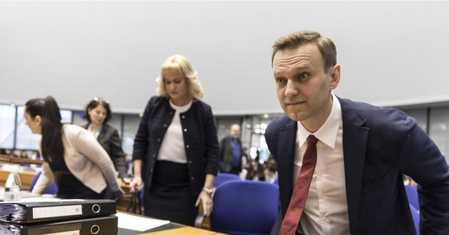 Opposition leader Navalny targets Kremlin in European court