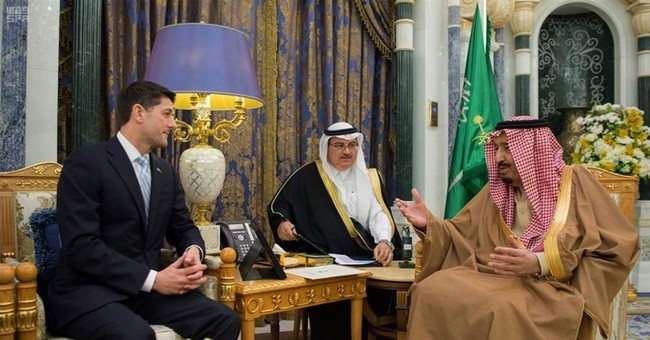 US House Speaker meets Saudi king in regional security talks