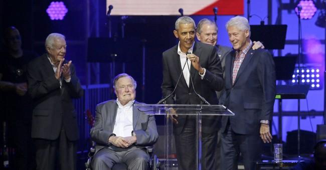 Hurricane relief effort led by ex-US presidents raises $41M
