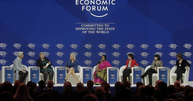 In Davos, European leaders try to counterbalance Trump views