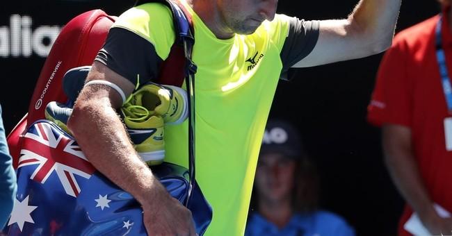 Tennys Sandgren blasts media in final shot at Aussie Open