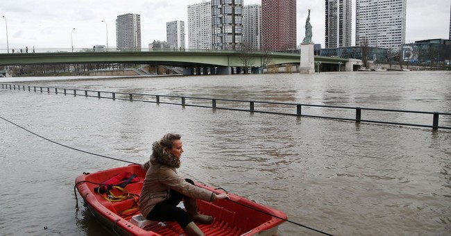 Seine keeps rising in Paris as more rain hits France
