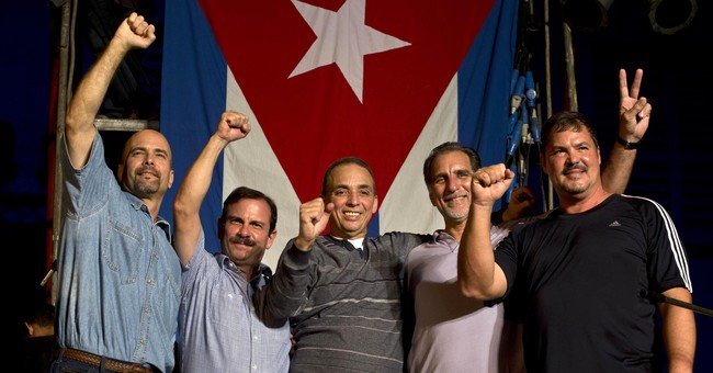 Former US inmate's wife decries exclusion from Cuba congress