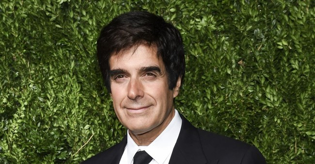 David Copperfield voices support for #MeToo after accusation