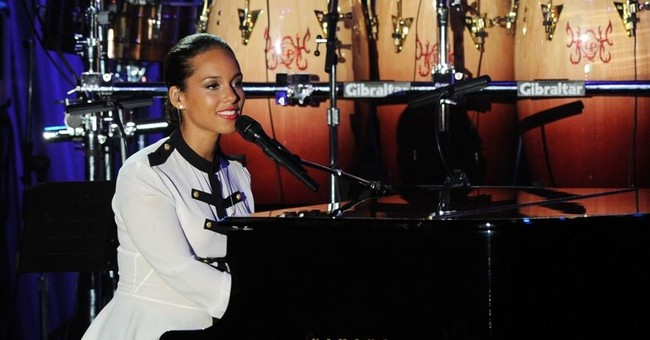 Alicia Keys kicks off Grammy week with a birthday party