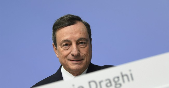 Europe's Draghi cautions US about talking down dollar