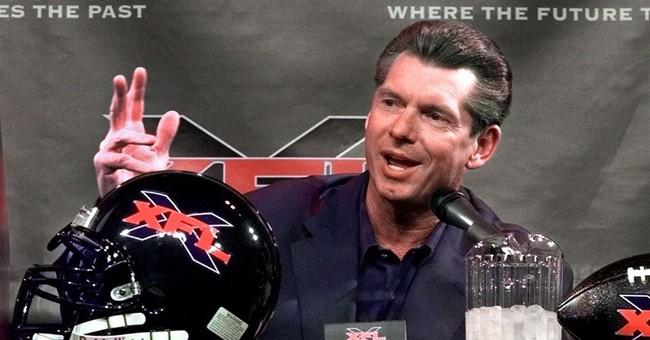 Look what's back: WWE head McMahon resurrects XFL