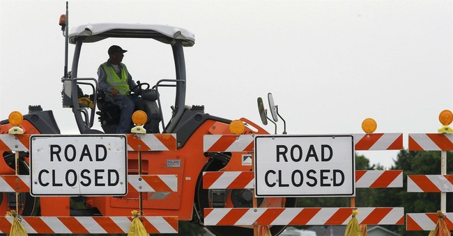 Potholes ahead for Trump's upcoming public works proposal