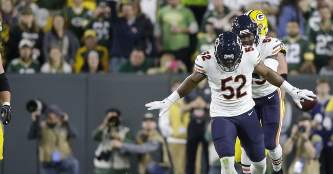 Chicago Bears get conservative, blow first half lead