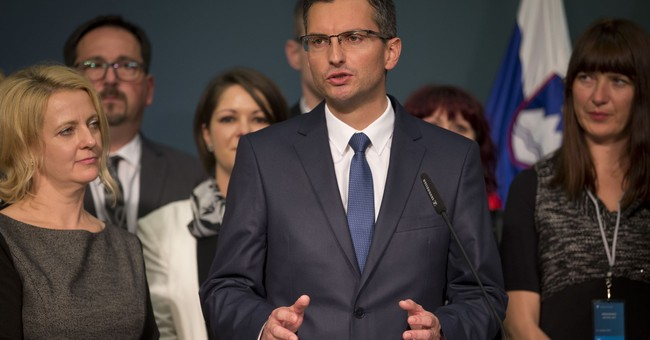 No joke as ex-comic becomes Slovenia's new prime minister