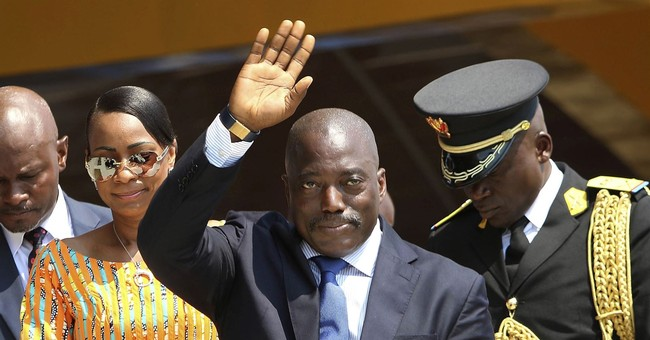 Congo's president holds rare press conference after outcry