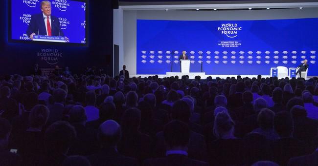Relations between Trump, global elites seem to thaw at Davos