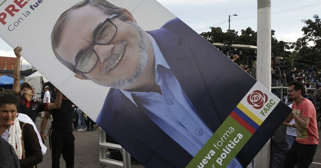 Ex-guerrilla launches historic presidential bid in Colombia