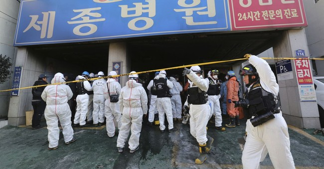 Police: SKorean fire likely caused by electrical fault