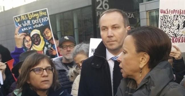 Congresswoman invites detainees' wife to Trump speech