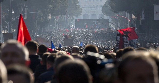 Thousands in Albania rally, call for government to resign
