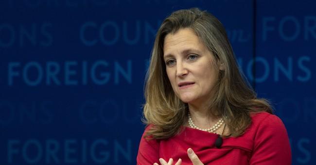 With looming NAFTA deadline and intensive talks, Freeland postpones United Nations speech
