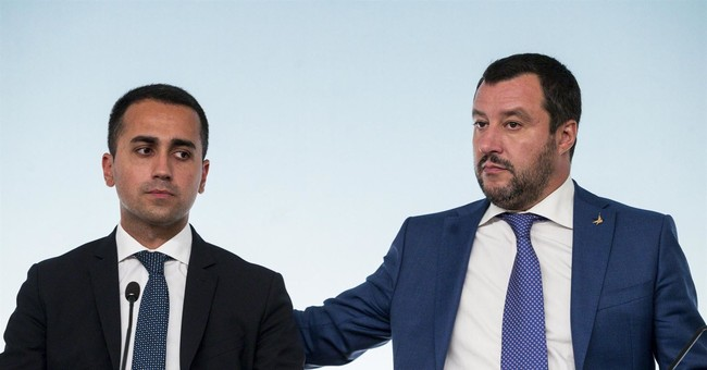 Salvini attacks Juncker for