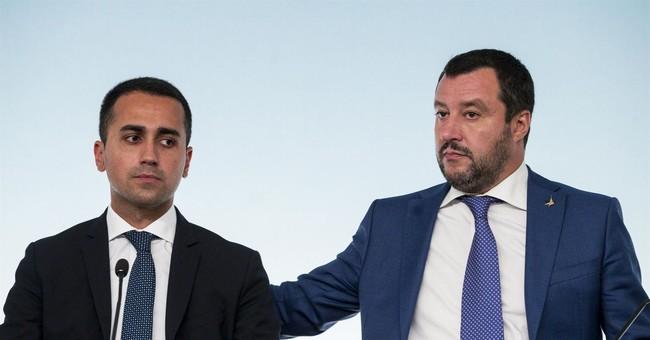 Italy's Mateo Salvini attacks Juncker, hopes for change in 2019