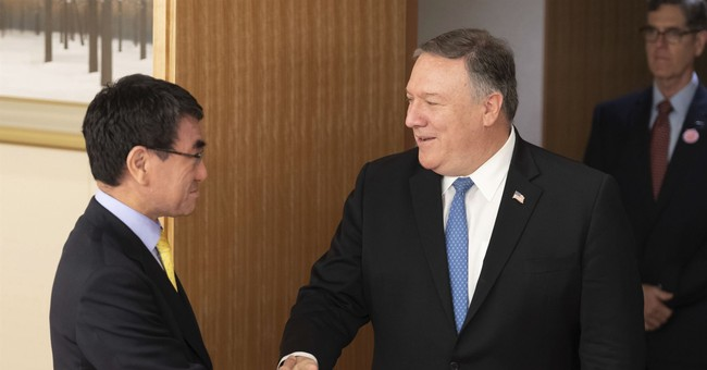 The Latest Pompeo seeks allied unity in dealing with NKorea
