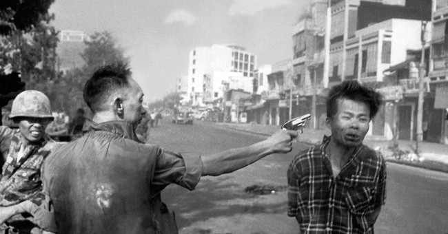In an instant, Vietnam execution photo framed a view of war