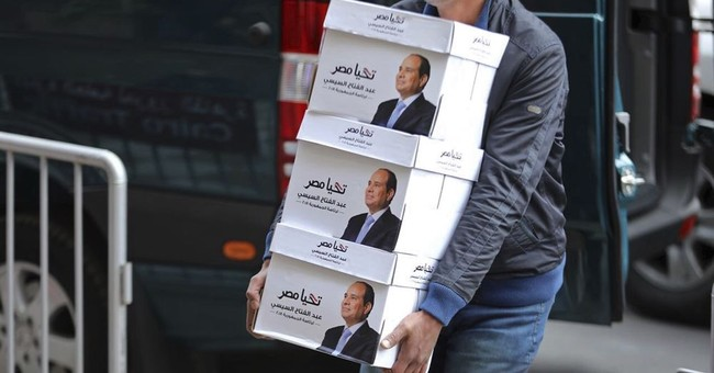 AP Analysis: Egypt election appears to follow an old formula