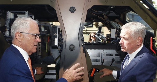 Australia plans to become leading defense-industry exporter