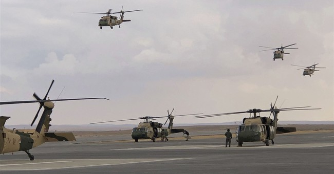 Jordan marks handover of 12 US Black Hawk helicopters