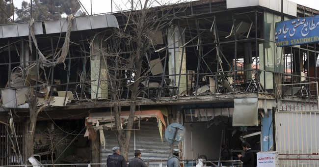 The Latest: Afghanistan raises toll from Kabul attack to 103